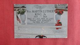 Black Americana  Memorial To Dr Martin Luther King Jr. Atlanta Georgia -ref 2725 - Black Americana