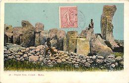 Pays Div-ref J615- Malte - Malta - Hagiar Kim  - Carte Bon Etat  - - Malta