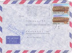 26366. Carta Aerea BELLVILLE (Cape) South Africa 1993 To Germany - África Del Sur (1961-...)
