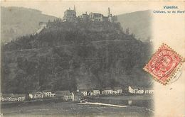 Pays Div-ref J614- Luxembourg - Luxemburg - Vianden - Chateau Vu Du Nord  - Carte Bon Etat  - - Vianden