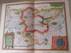 """DIV0714 : Jolie Repro De Carte Ancienne Années 1600/1700 ?  LE PERCHE  (série """"VIEUX PAYS DE FRANCE"""" N°26) , Objet Publi - Mapas Geográficas"""