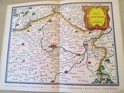 """DIV0714 : Jolie Repro De Carte Ancienne Années 1600/1700 ?  LE PAYS CHARTRAIN De Marchandises ?  (série """"VIEUX PAYS DE F - Geographical Maps"""