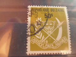 ZAIRE TIMBRE N°449 - Zaïre
