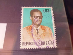 ZAIRE TIMBRE N°472 - Zaïre