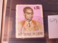 ZAIRE TIMBRE N°474 - Zaïre