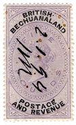 (I.B) British Bechuanaland Revenue : Duty Stamp £5 - Bechuanaland (...-1966)