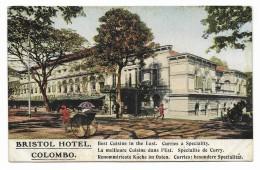 COLOMBO ( CEYLON ) BRISTOL HOTEL COLOMBO - NV FP - Sri Lanka (Ceylon)