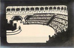 - Themes Divers -ref U505-dessin A La Plume -support Souple Format Carte Postale -amphitheatre  - - Espace