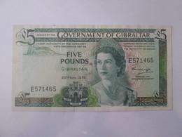 Gibraltar 5 Pounds 1975 Banknote - Gibraltar