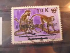 ZAIRE TIMBRE N°537 - Zaïre
