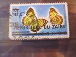 ZAIRE TIMBRE N°542 - Zaïre