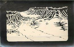 - Themes Divers -ref U503-dessin A La Plume -support Souple Format Carte Postale -espace - Planete Lointaine   - - Espace