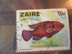 ZAIRE TIMBRE N°549 - Zaïre