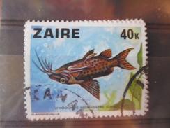 ZAIRE TIMBRE N°551 - Zaïre