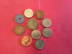 Lot De 10 Pièces Voir Le Scan - Münzen & Banknoten