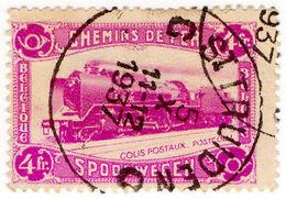 (I.B) Belgium Railways : Parcel Stamp 4 Fr - België