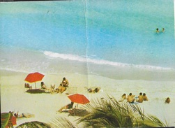 CUBA - PLAYA VARADERO , MATANZAS - VIAGGIATA 1980 FRANCOBOLLO ASPORTATO - Cartoline