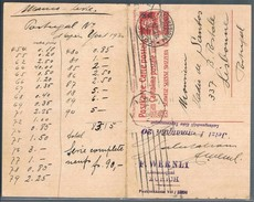 Suiça, 1929, Cartolina Postale Avec Response Payée Zürich-Lisboa - Suisse