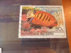 ZAIRE TIMBRE N°665 - Zaïre