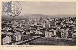 ISLANDE / ISLAND - Reykjavik Sjeo Fra Kapolsku Kirkjunni - 1936 - Islande