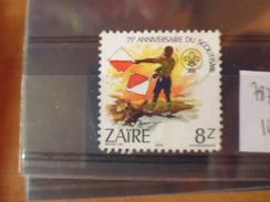 ZAIRE TIMBRE N°787 - 1980-89: Oblitérés