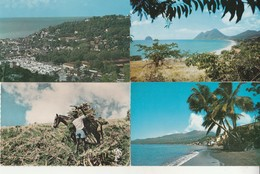 Lot De 17 Cartes Modernes Martinique. - Martinique