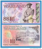 DEUTSCHLAND / GERMANY / ALEMANIA / WARLAND  88 BULLETS  SC/UNC/PLANCHA  T-DL-11.044 - Otros