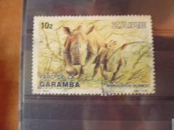 ZAIRE TIMBRE N°838 - Zaïre