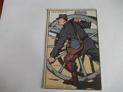 COPIE Guerre 14-18 Nos Héros Artilleur 1915 Probable Copie - Guerre 1914-18