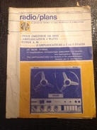 SCM. 144. Radio Plan N*262 De 1969 - Literature & Schemes