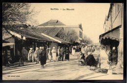ALGERIE - BATNA - Le Marché - Batna