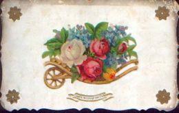 « L'amitié Ne Connaît Pas L'oubli » - élément Mobile Et En Relief (1907) - Cartes Postales