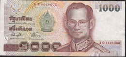THAILAND   P108   1000  BAHT   2000 Signature 74    VF NO P.h.! - Thailand