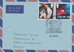 Brief Uit STRAFFORD Upon AVON  Geboorteplaats William Shakespeare : Bijzondere Afstempeling  1991 - 1952-.... (Elizabeth II)