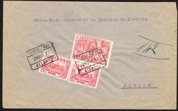 España 1937. Carta De Allariz Ourense A Burgos. Beneficencia Provincial. - 1931-Hoy: 2ª República - ... Juan Carlos I