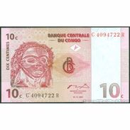 TWN - CONGO DEM. REP. 82a - 10 Centimes 1.11.1997 C-R (ATB) UNC - Congo