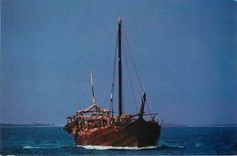 Bahrain - Bahreïn - Bateaux - Fishing Boat - Semi Moderne Grand Format - 2 Scans - état - Bahrain