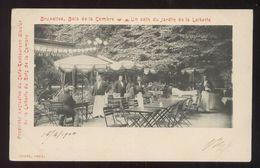 BELGIO - BRUXELLES - 1900 - BOIS DE LA CAMBRE - UN JARDINA DE LA LATERIE - CAFE RESTAURANT GLACIER - Bar, Alberghi, Ristoranti