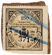(I.B) France Local Post : Colis Postaux De Paris 25c - Europe (Other)