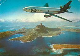Bahrain - Bahreïn - Aviation - Avions - UTA - DC 10-30 - Semi Moderne Grand Format - 2 Scans - état - Bahrain