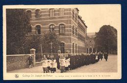 Virton. Collège St. Joseph. Le Cortège Avant La Bénédiction De La Grotte De Notre-Dame De Lourdes. 1930 - Virton