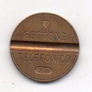 Italia - 1975 - Gettone Telefonico SIP E.S.M. -  Nr. 7511 - (FDC6254) - Professionals/Firms
