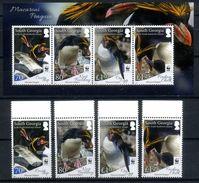South Georgia 2017 WWF, Fauna, Birds, Macaroni Penguins - W.W.F.