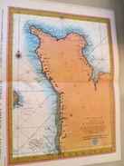 """DIV0714 : Jolie Repro De Carte Ancienne Années 1600/1700 ?  LE COTENTIN (série """"VIEUX PAYS DE FRANCE"""" N°46) , Objet Publ - Cartes Géographiques"""