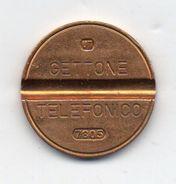 Italia - 1978 - Gettone Telefonico SIP U.T. -  Nr. 7805 - (FDC6255) - Professionals/Firms
