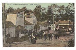 Brussel / Bruxelles - Exposition De Bruxelles 1910 - Village Sénégalais - Expositions Universelles