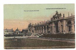Brussel / Bruxelles - Exposition De Bruxelles 1910 - Vue Sur La Façade Principale - Expositions Universelles