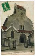 CPA Courbevoie, L'Eglise Saint Maurice (pk35879) - Courbevoie