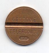 Italia - 1970 - Gettone Telefonico SIP SENZA ZECCA -  Nr. 7011 - (FDC6256) - Professionals/Firms