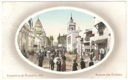 Brussel - Bruxelles - Exposition De Bruxelles 1910 - Avenue Des Colonies - Expositions Universelles